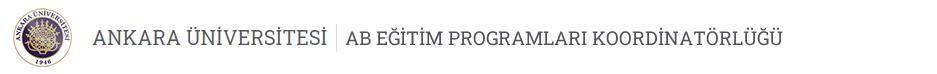 AB Eğitim Programları Koordinatörlüğü Logo